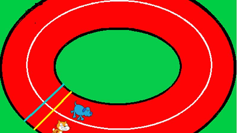 preteky-mačka vs pes